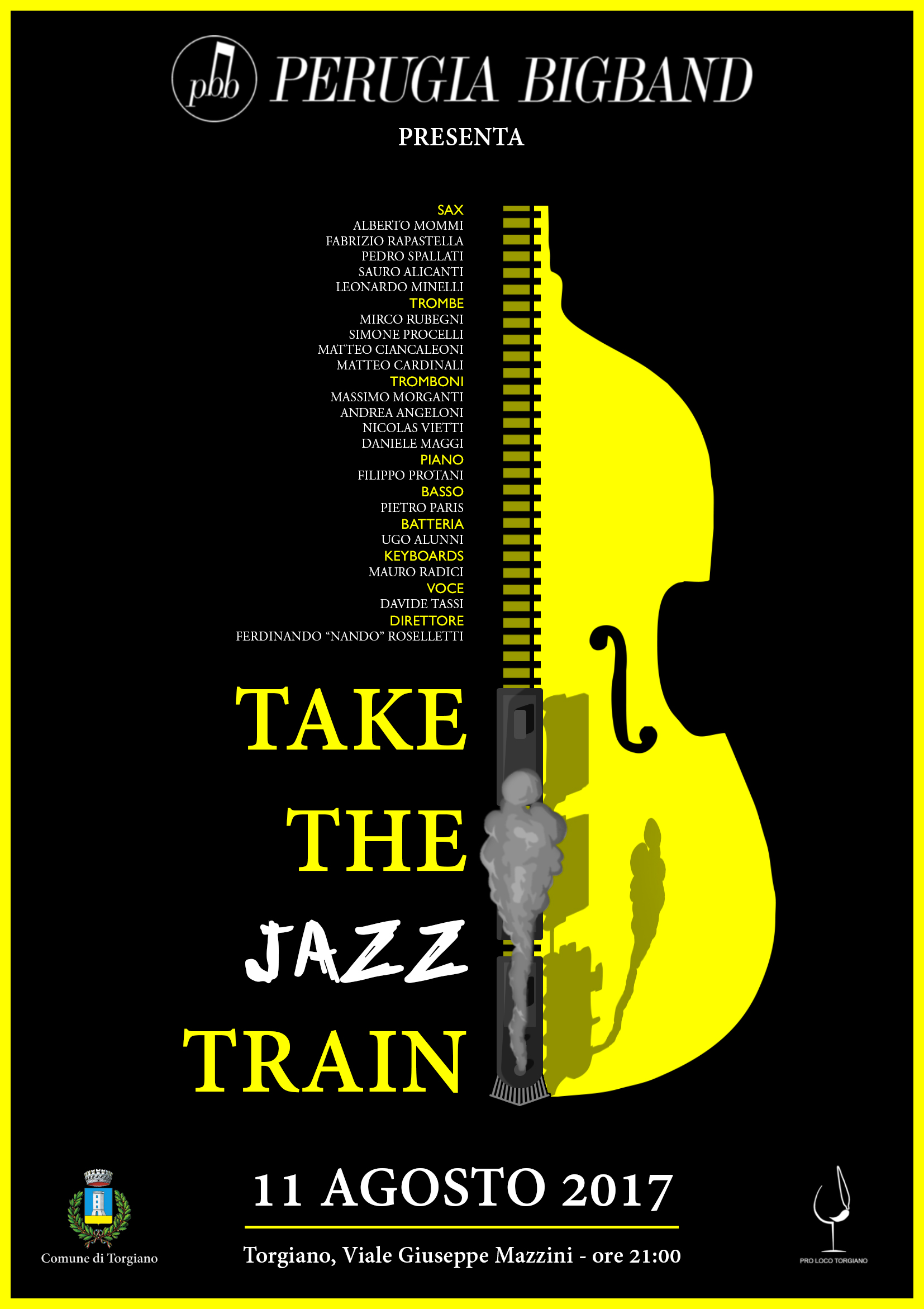 Perugia-BigBand-Torgiano-Take-The-Jazz-Train