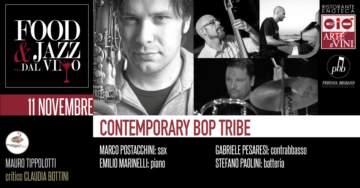 Contemporary Bop Tribe Food Jazz dal Vino