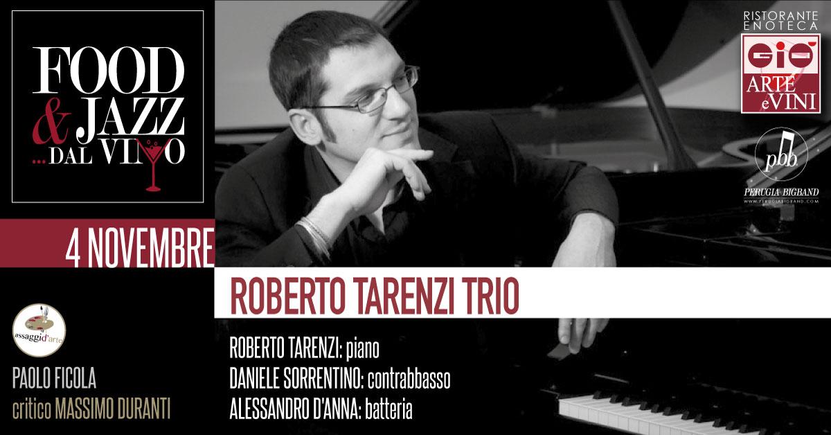 Roberto Tarenzi Trio Food Jazz dal Vino