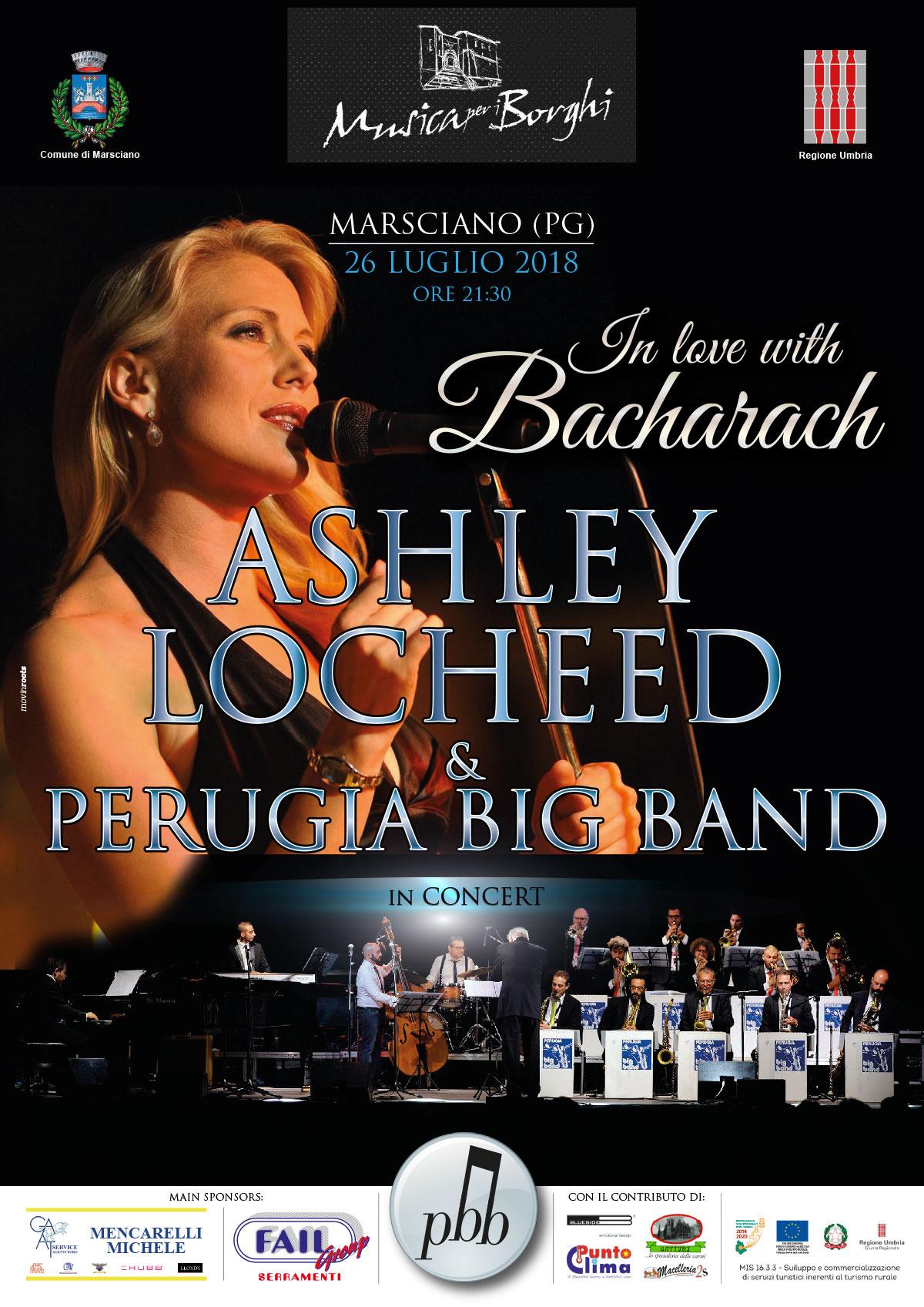 ASHLEY LOCHEED Perugia Big Band Marsciano