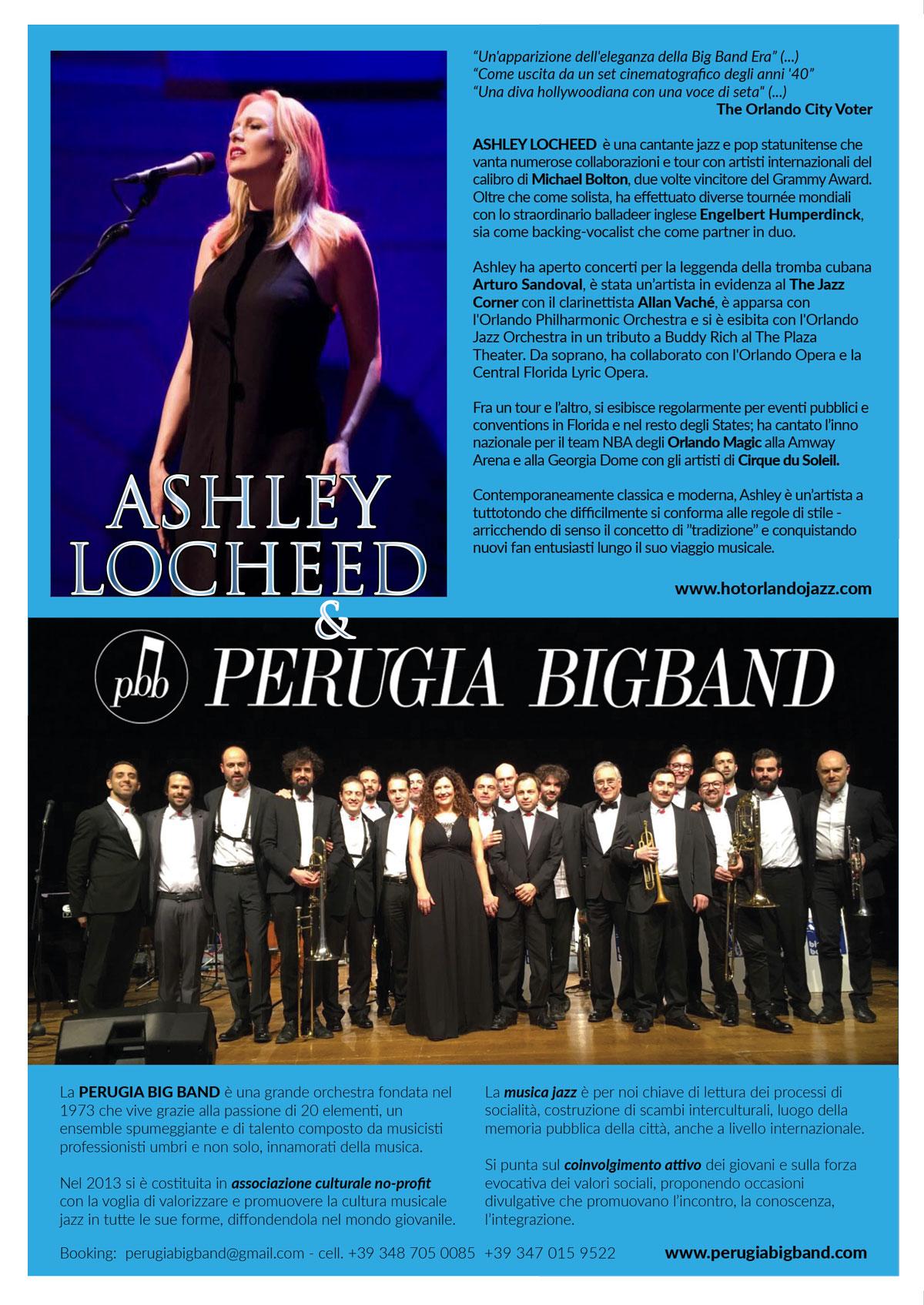 ASHLEY LOCHEED Perugia-Big Band Promo-MARSCIANO-A5-PRINT