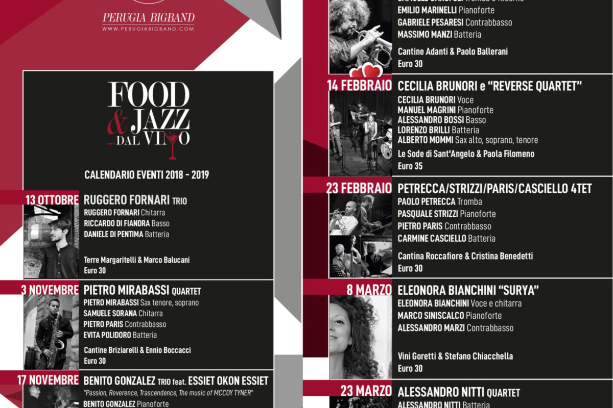 fjdv Food Jazz dal Vino
