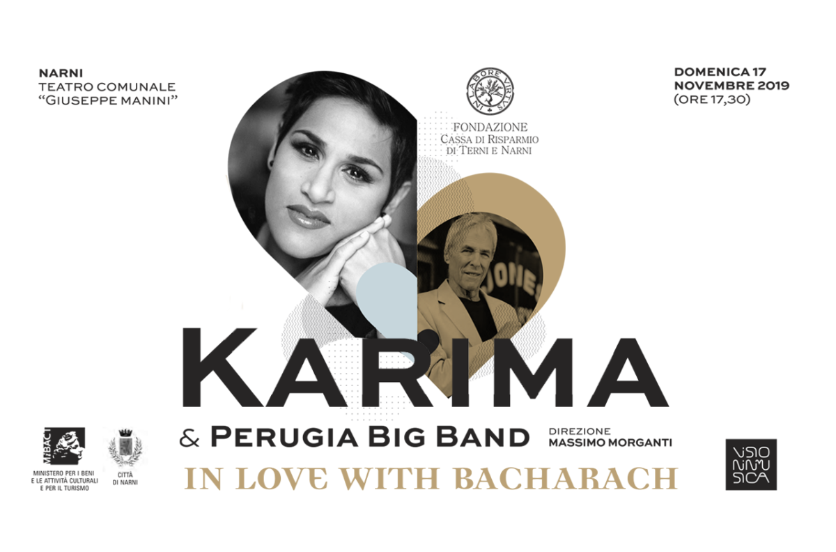 In love with Bacharach: Karima & Perugia Big Band